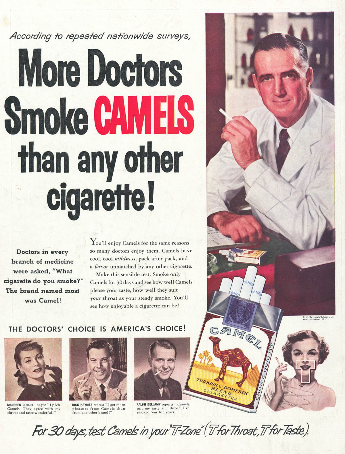 more doctors smoke camels