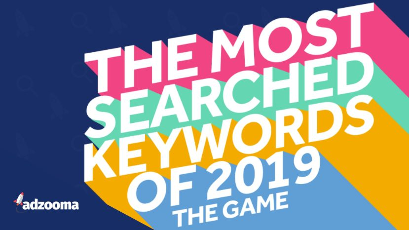 Most Searched Keywords of 2019