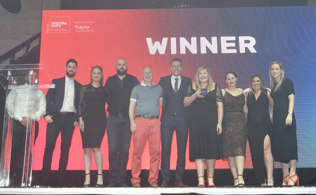 Adzooma - winners at the Digital City Awards