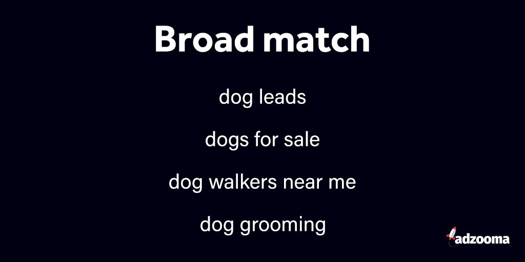 Broad match