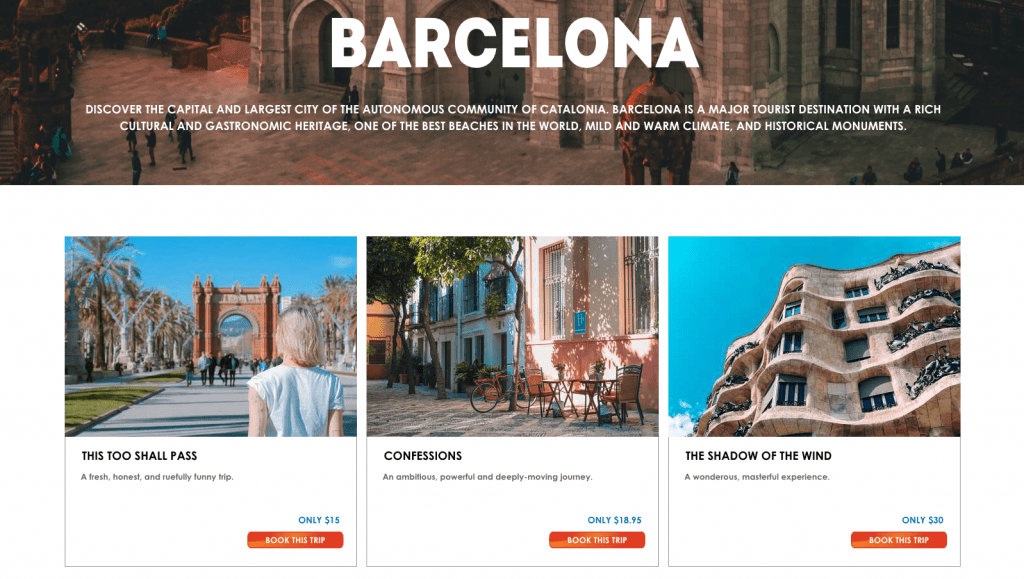 Search results for Barcelona
